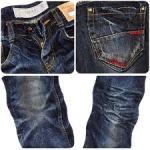 Wrinkled Jeans